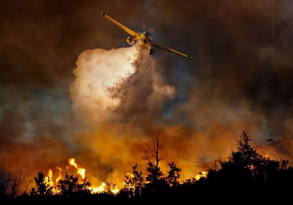 Применение авиации при тушении лесных пожаров – преимущества и недостатки