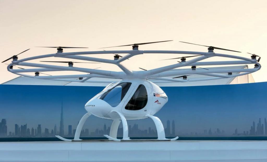 Летающие такси скоро появятся в 65 городах по всему миру